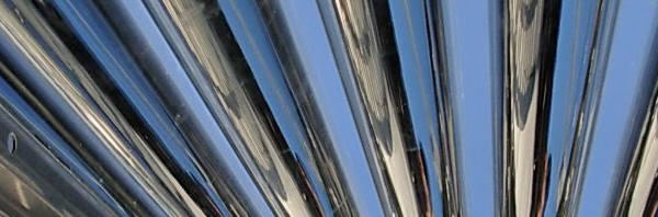 solar thermal evacuated tubes